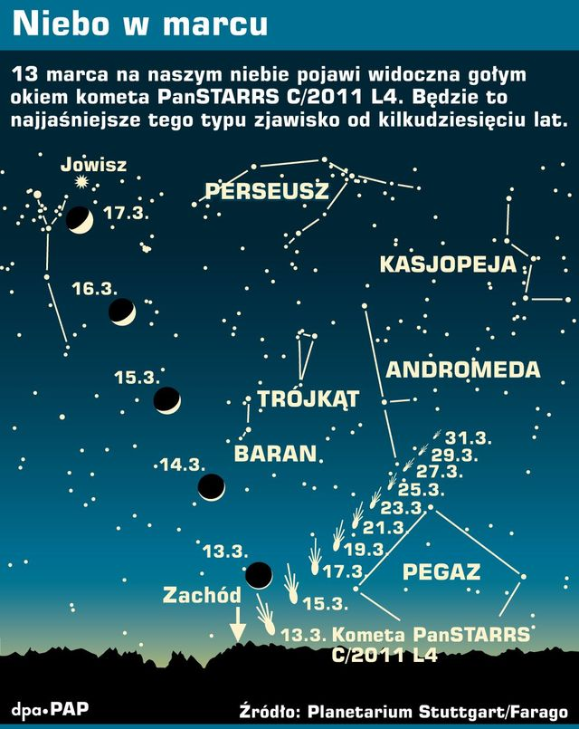niebo w marcu infograf pap dpa 640